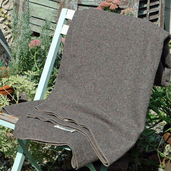 Vintage LL Bean Camp Blanket. $65.00, via Etsy.