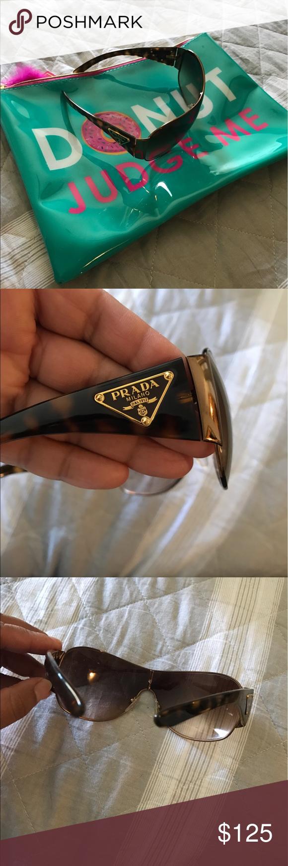 PRADA SUNGLASSES. Final price🌸 Excellent condition, authentic, no case. Prada Accessories