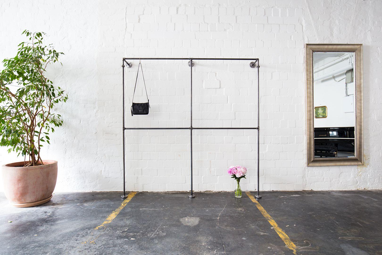Kleiderschrank Industrial industrial design scanidinavian look minimalistic offener