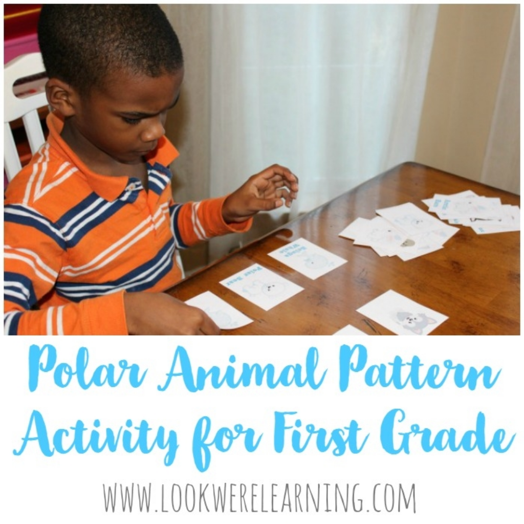 Arctic Animals Pattern Activity For Kids