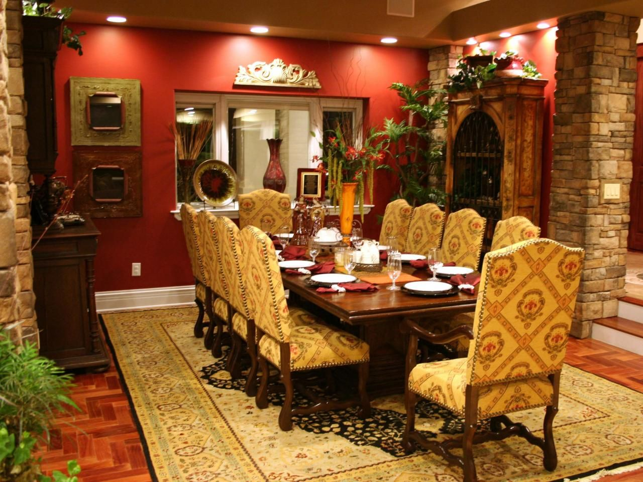 Rooms Viewer  Rooms And Spaces Design Ideas  Photos Of Kitchen Alluring Old Fashioned Dining Room Sets Decorating Inspiration