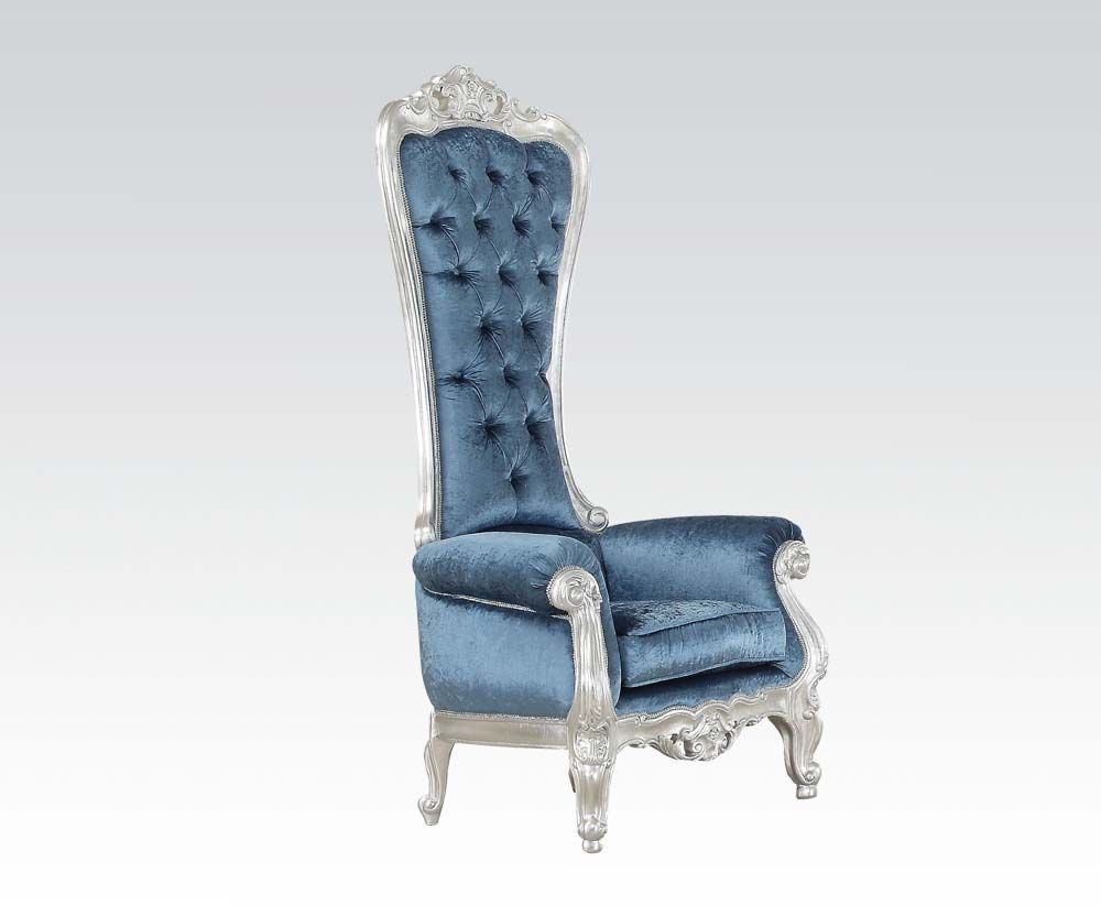 Best Hatter 59142 Blue Accent Chair Blue Accent Chairs 400 x 300