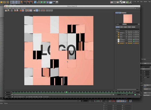 Cinema 4d Tutorial: Stick Textures to animated objects