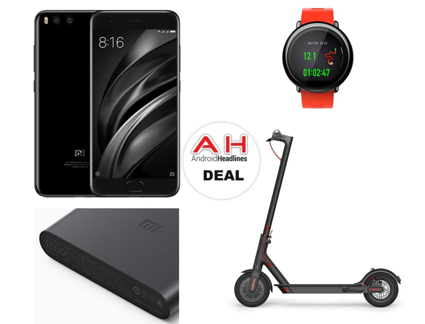 Tomtop: Save Big On The Xiaomi Mi 6, Electric Scooter