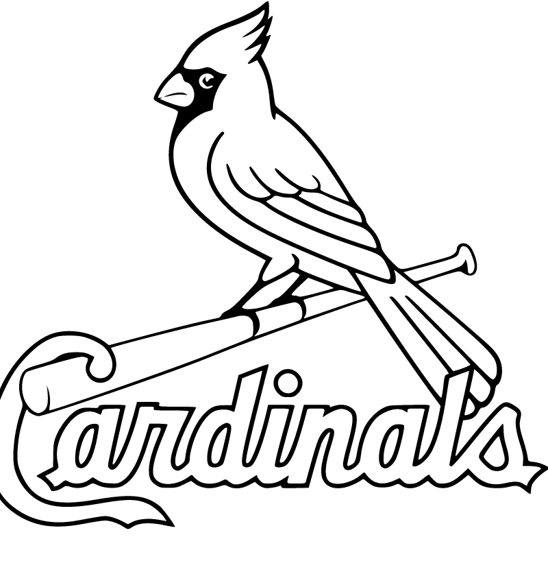 Cardinals 800x1000 Png 800 818 Pixels Baseball Coloring Pages St Louis Cardinals Cardinals Baseball