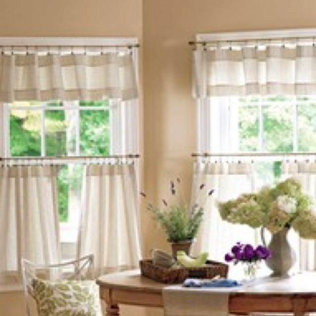Pin By B Lee On For The Home Dining Room Curtains Kitchen Curtain Designs Country Curtains #tier #curtains #living #room