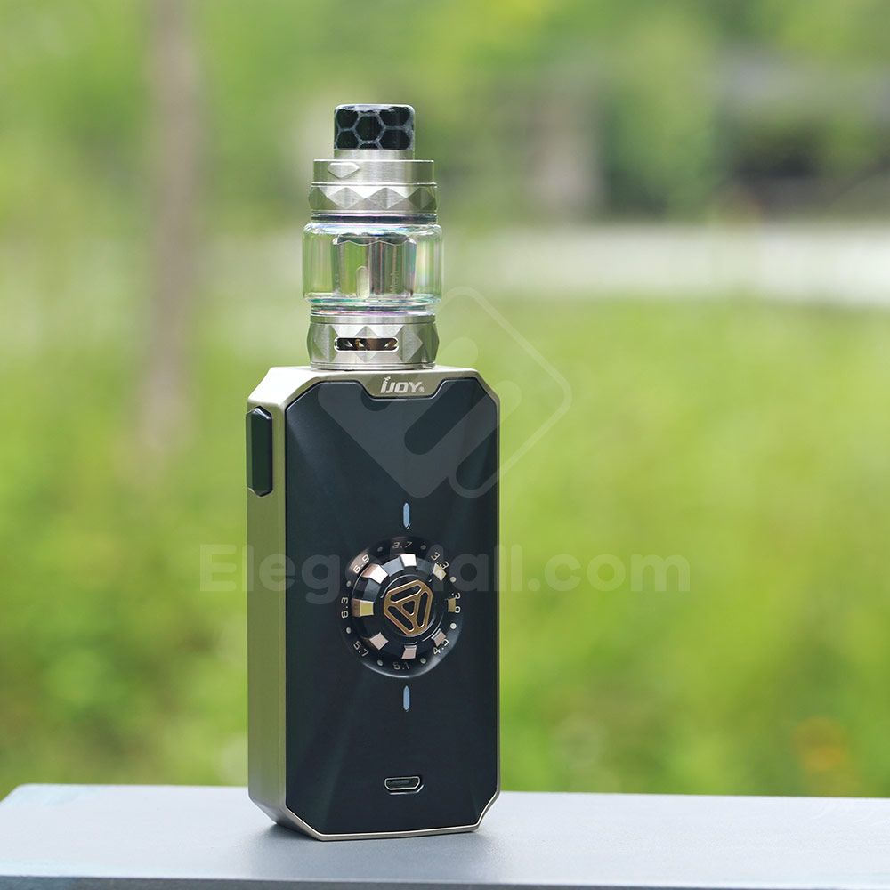 Ijoy Zenith 3 Kit With Diamond Subohm Tank Perfume Bottles