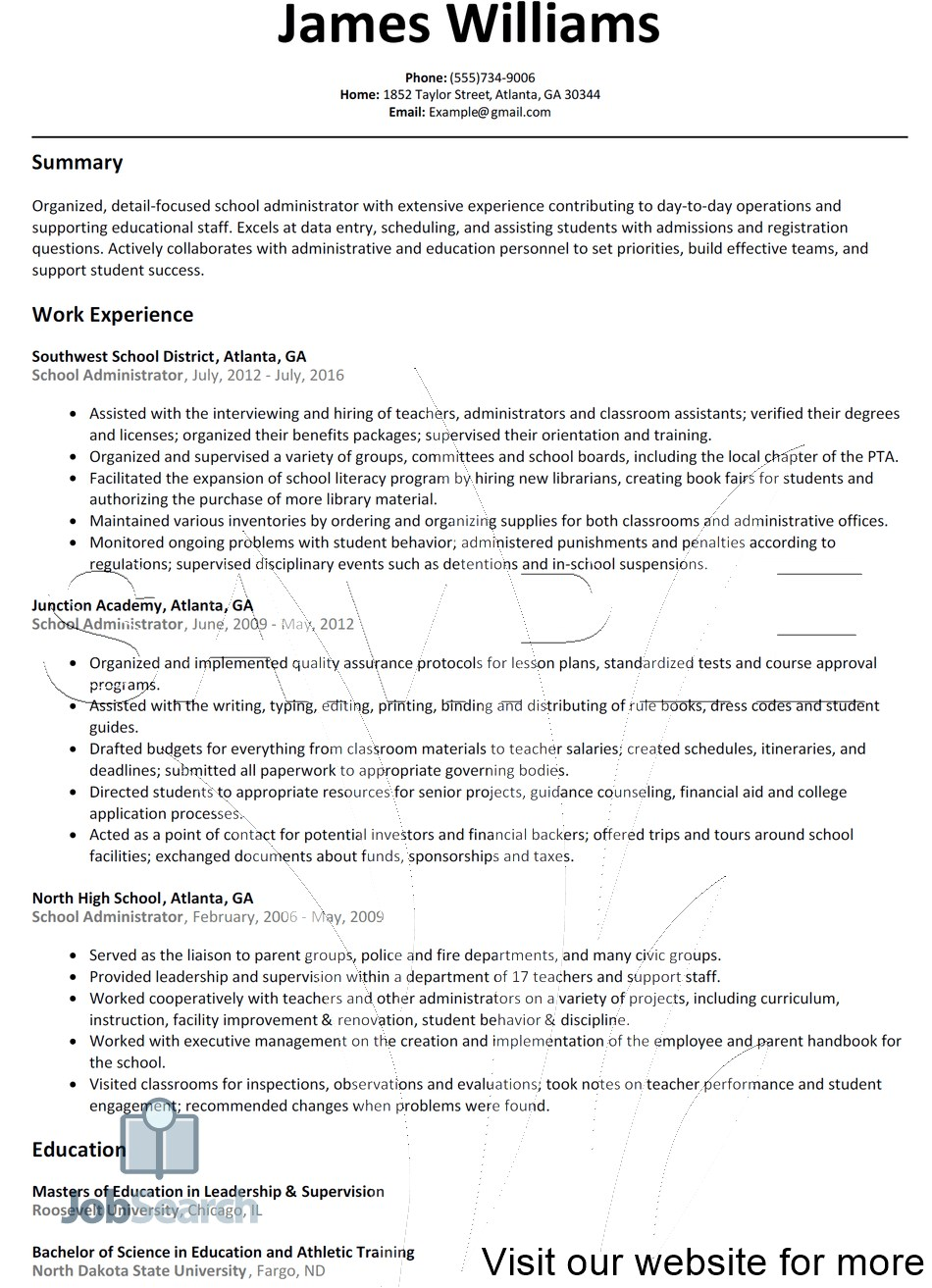 Office Administrator Resume Sample 2020 Office Administrator Resume Sample Office In 2020 Teacher Resume Template Free Teacher Resume Template Resume Template Free
