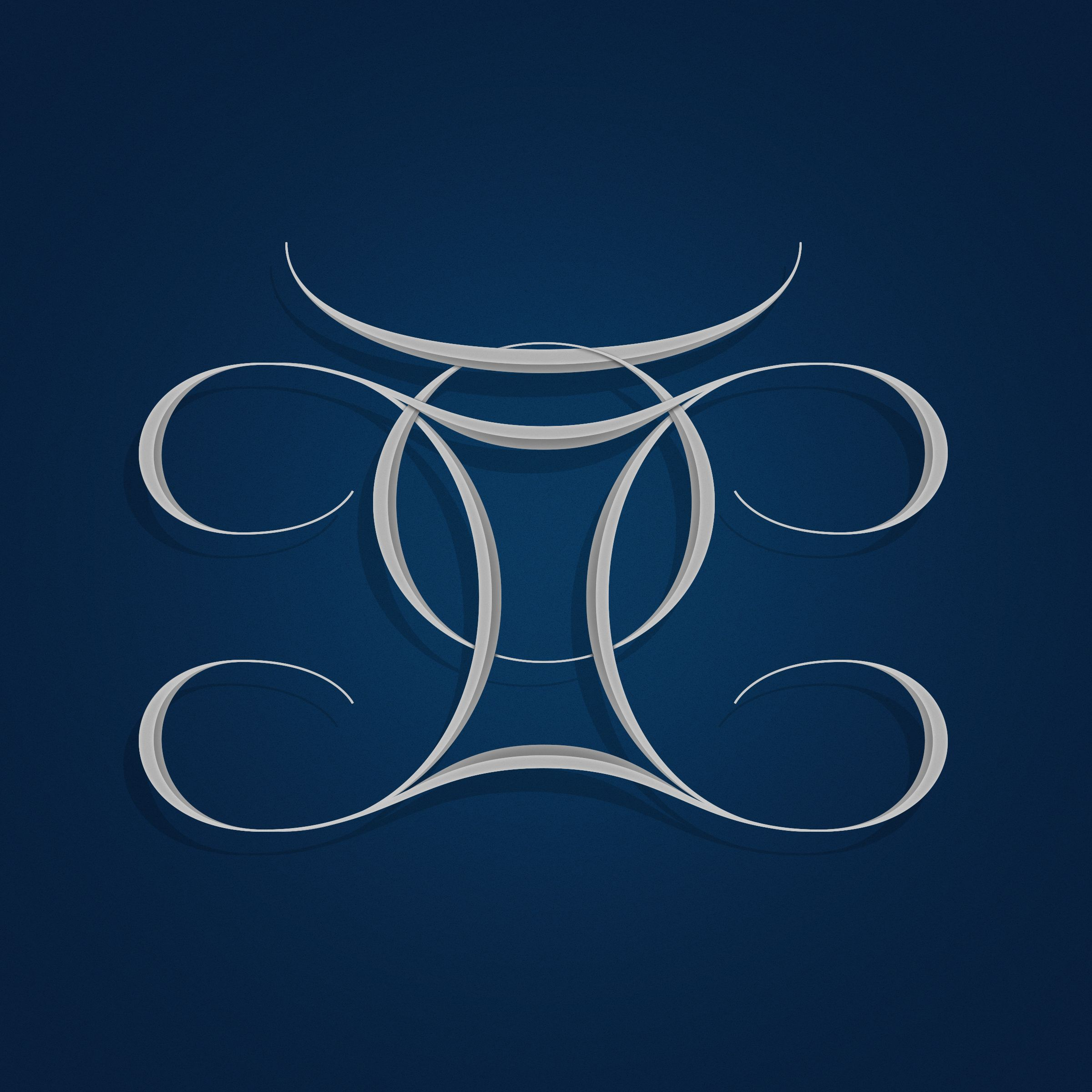 Taurus gemini symbols combined to one my hand lettering and taurus gemini symbols combined to one buycottarizona