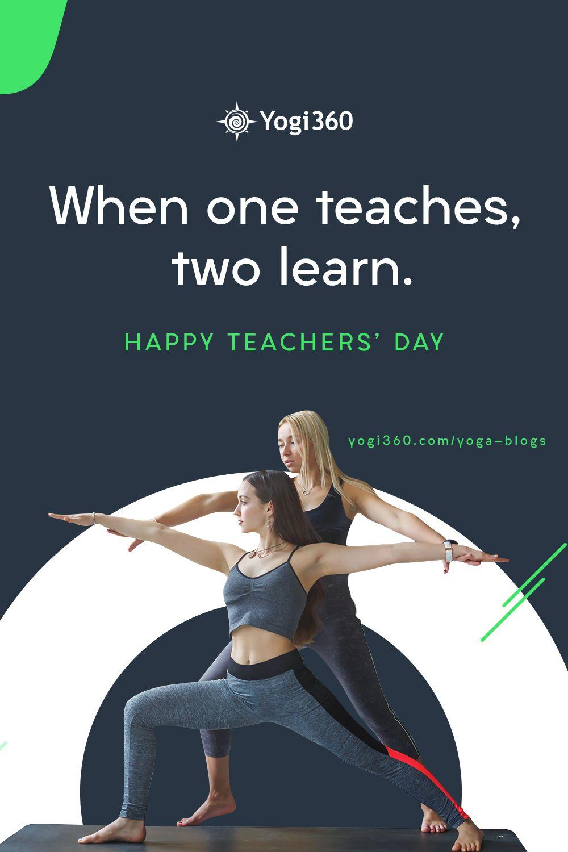 Teachers Day Happy Teachers Day Teachers Day Yoga Teachers