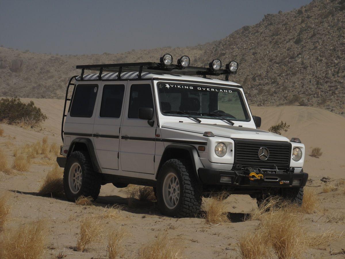 G-Wagen Roof Rack Slimline II by Front Runner | Roof rack ...