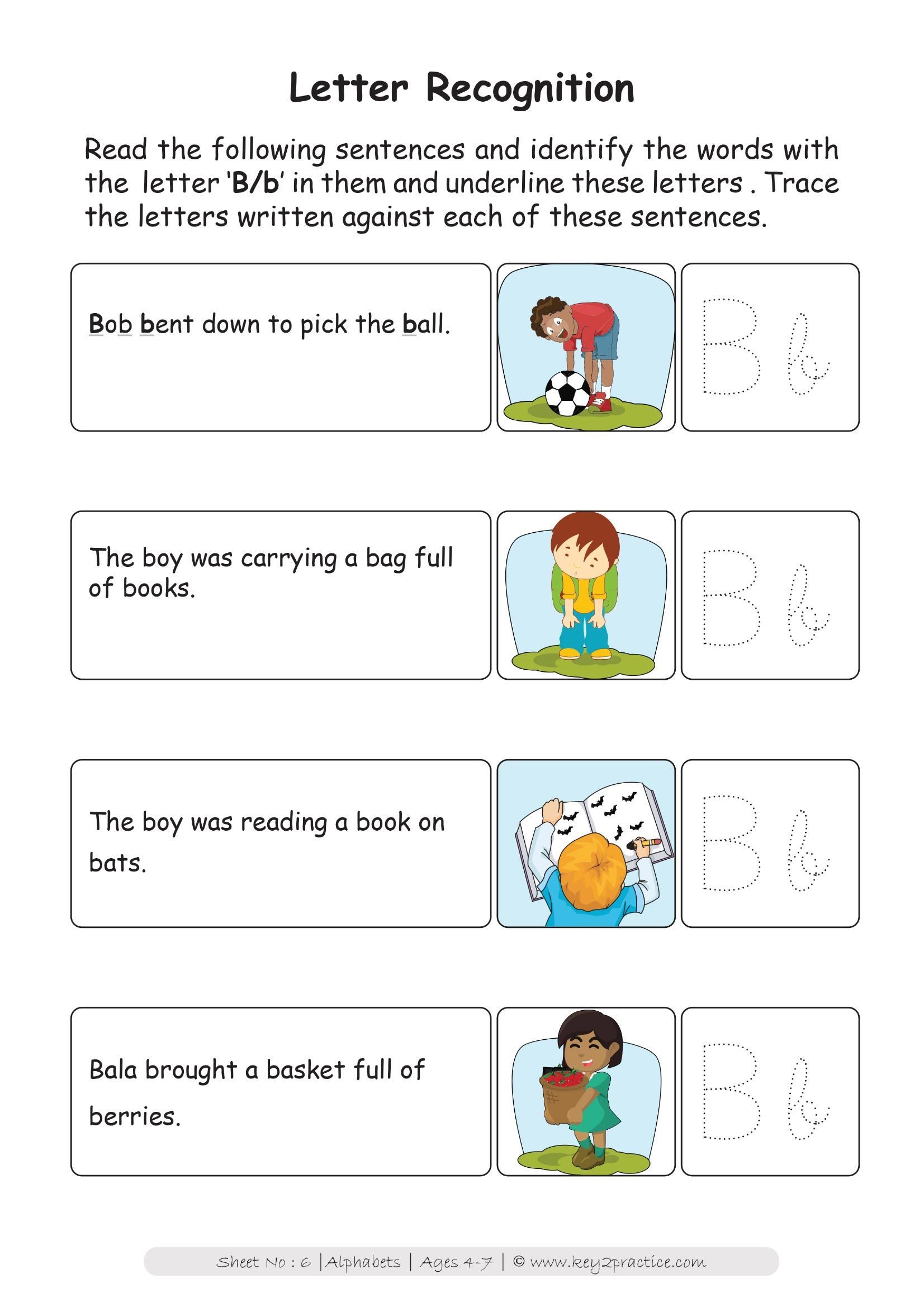 Worksheets On Alphabets Pre Primary