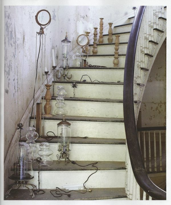 Lighting Basement Washroom Stairs: Features Luna Bellas Hand Made