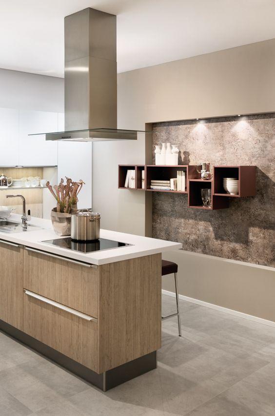 Kupferfarbene Küchenregale werten jede Kücheneinrichtung auf und ... | {Küchenregale 6}