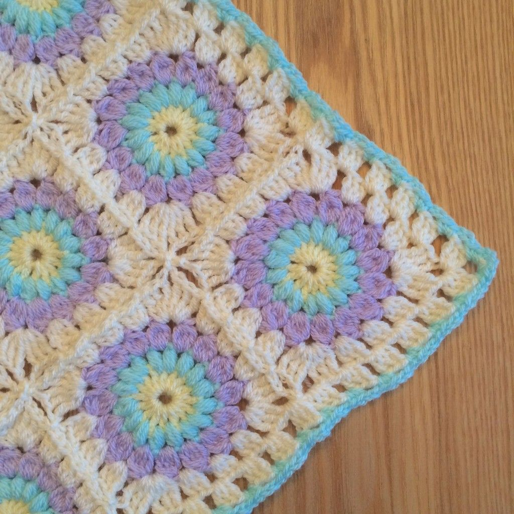 Bella Coco Sunburst Blanket tutorial on the LoveCrochet blog ...