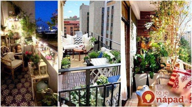 Dokonalé. 25 malých balkónov, ktoré ich majitelia premenili na malý kúsok raja. Pozrite si ich aj vy na http://www.tojenapad.sk/25-malych-balkonov-ktore-ich-majitelia-premenili-na-maly-kusok-raja/  #balkón #raj #balcony #paradise #design #dizajn #flat #byt #amazing #úžasné #tojenápad