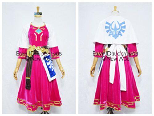 The Legend Of Zelda Skyward Sword Princess Zelda Costume