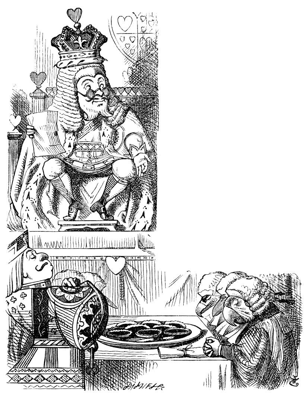 Alice and wonderland. Lewis Carroll Illustrations.