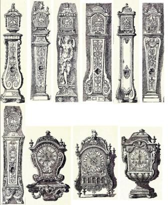 Louis XIV Furniture explained in text and pictures meubles de