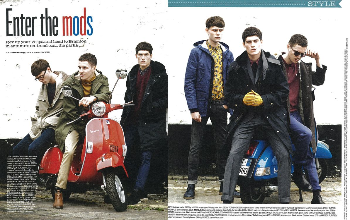 musto heritage parka in shortlist magazine 60s moddish enter the mods menswear style mens. Black Bedroom Furniture Sets. Home Design Ideas
