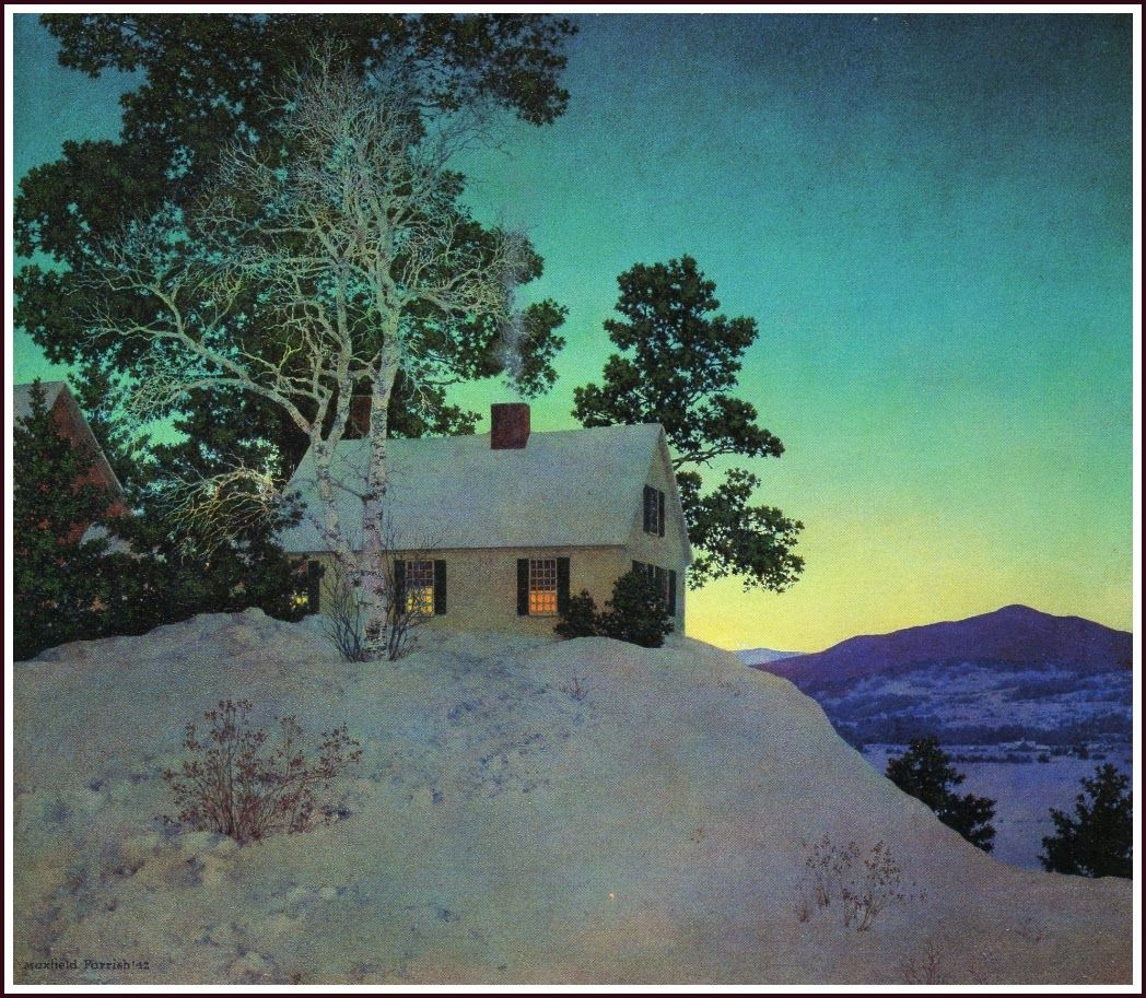 Maxfield Parrish Landscapes | MAXFIELD PARRISH 1870-1966 ~ Landscapes 1931-1961
