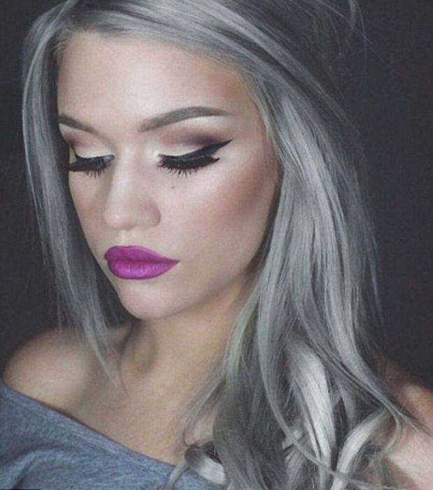 Couleur gris pour les cheveux