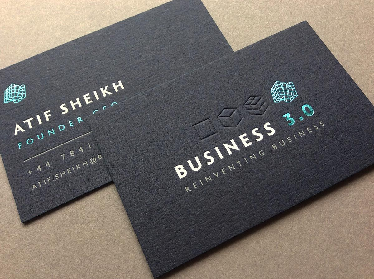 letterpress card black - Google zoeken | Business Cards | Pinterest ...