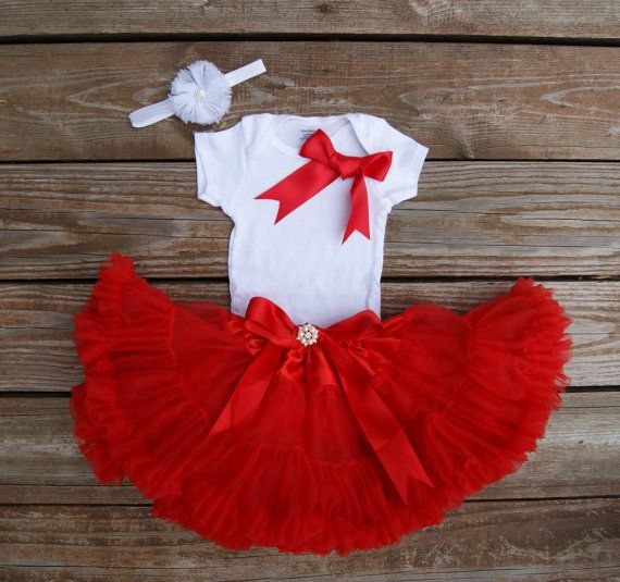 Girls Christmas dress Toddler Christmas outfit by KadeesKloset
