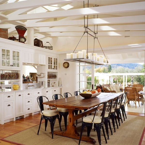 Napa Style Dining Rooms Farmhouse Table Dining Room
