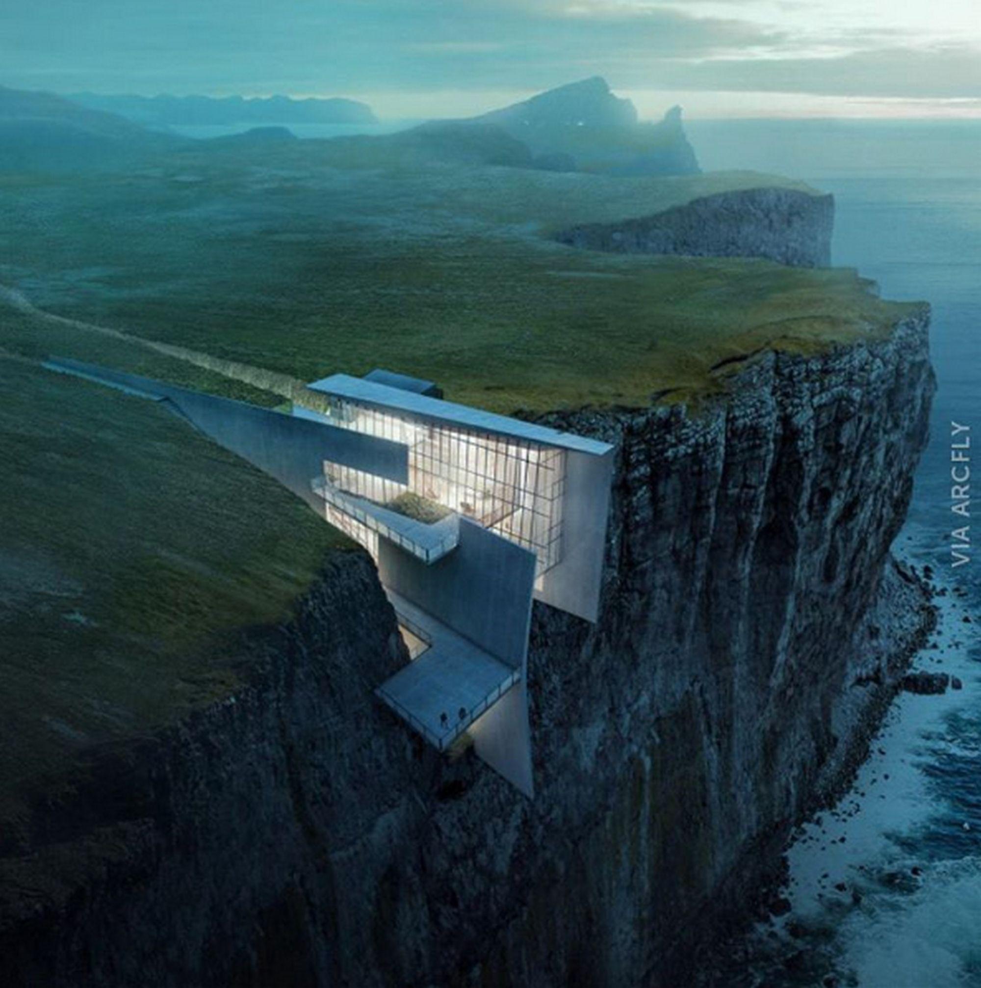 90 Incredible Modern Farmhouse Exterior Design Ideas 12: Alex Hogrefe (@visualizing_architecture) Created This