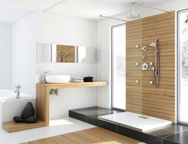 Design salle de bains moderne en 104 idées super inspirantes! Zen