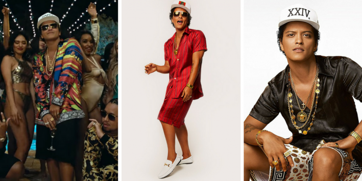 Style Friend Steal His Look Bruno Mars Promoting 24k Magic
