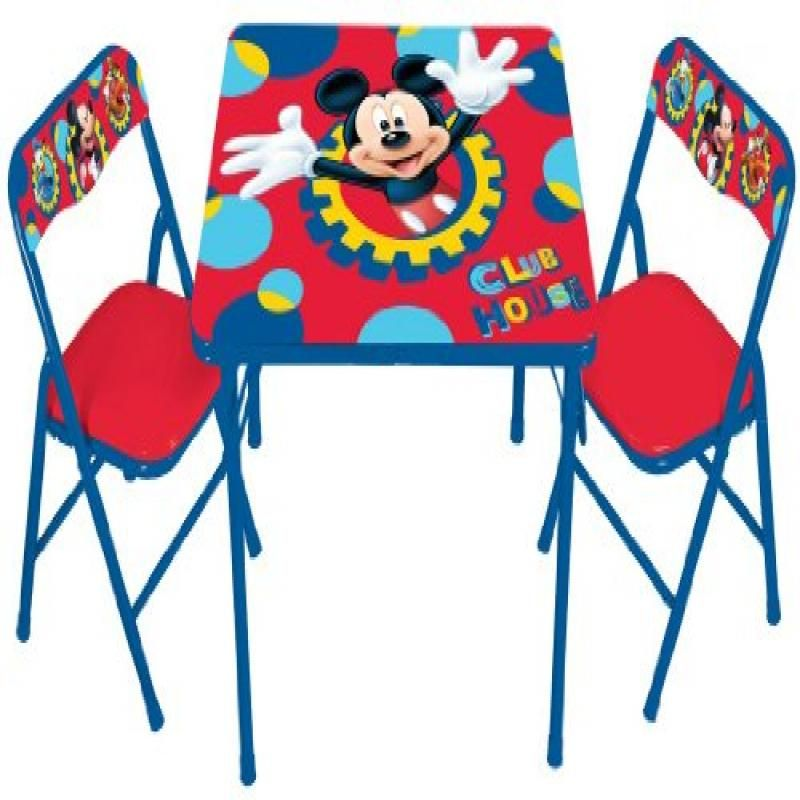 Disney Mickey Mouse Playground Pals Activity Table Set For
