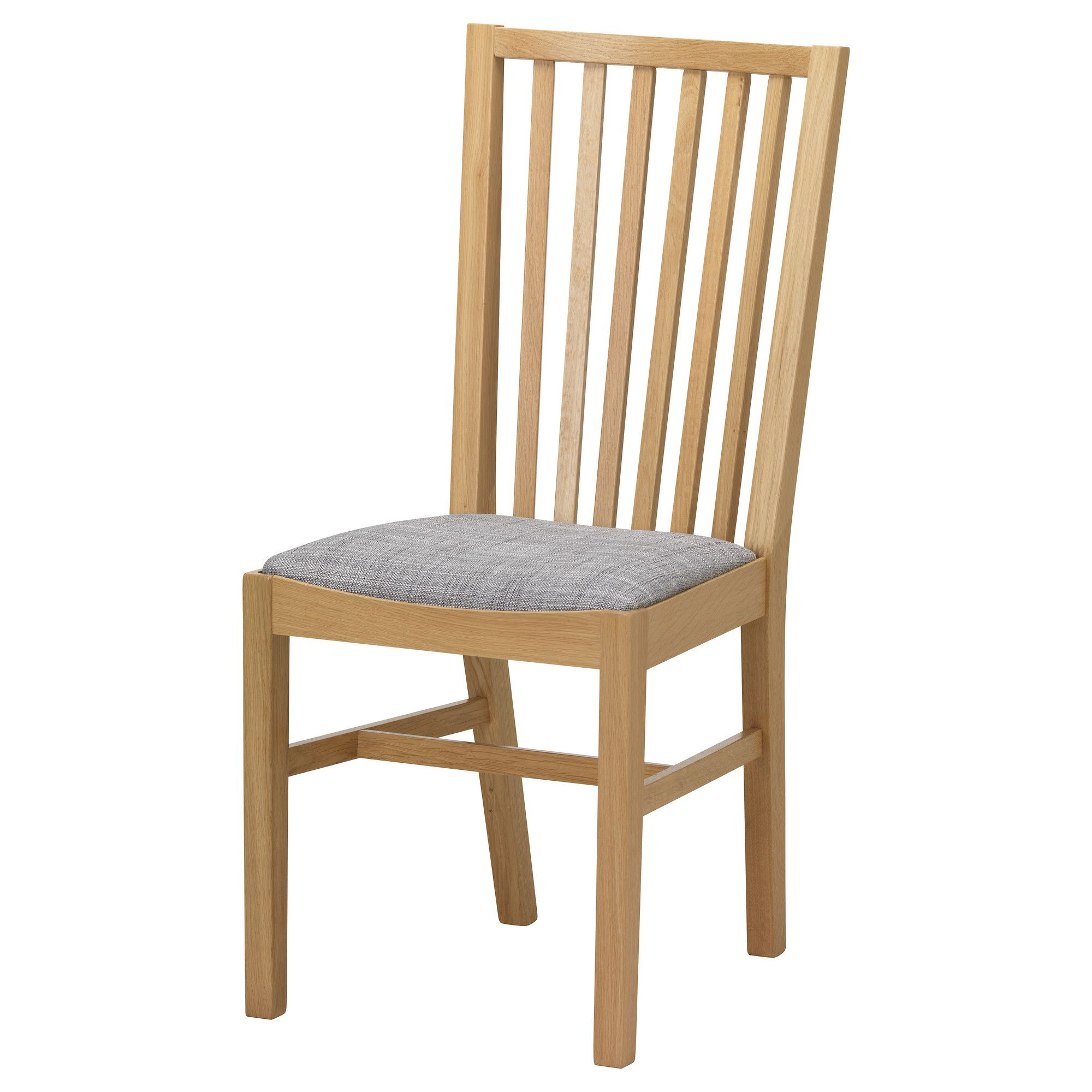 "NORRN""S Chair Oak isunda grey"