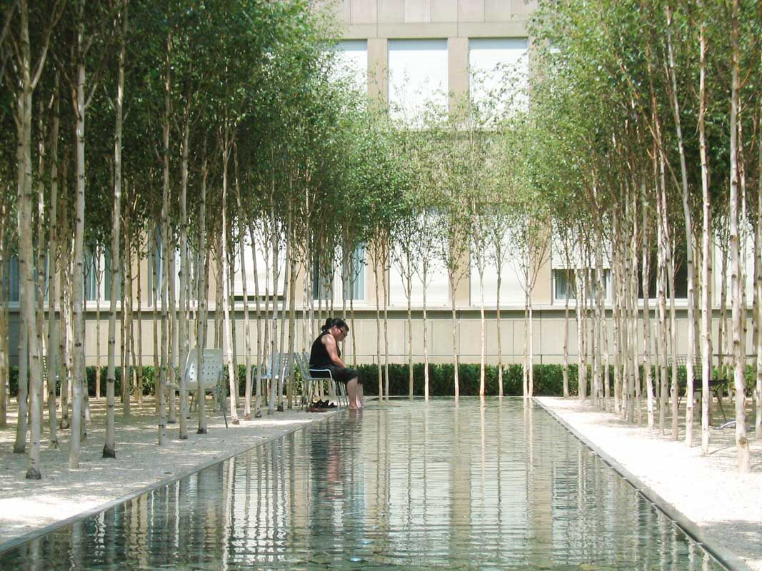 pwp landscape architecture : novartis headquarters, forum 1