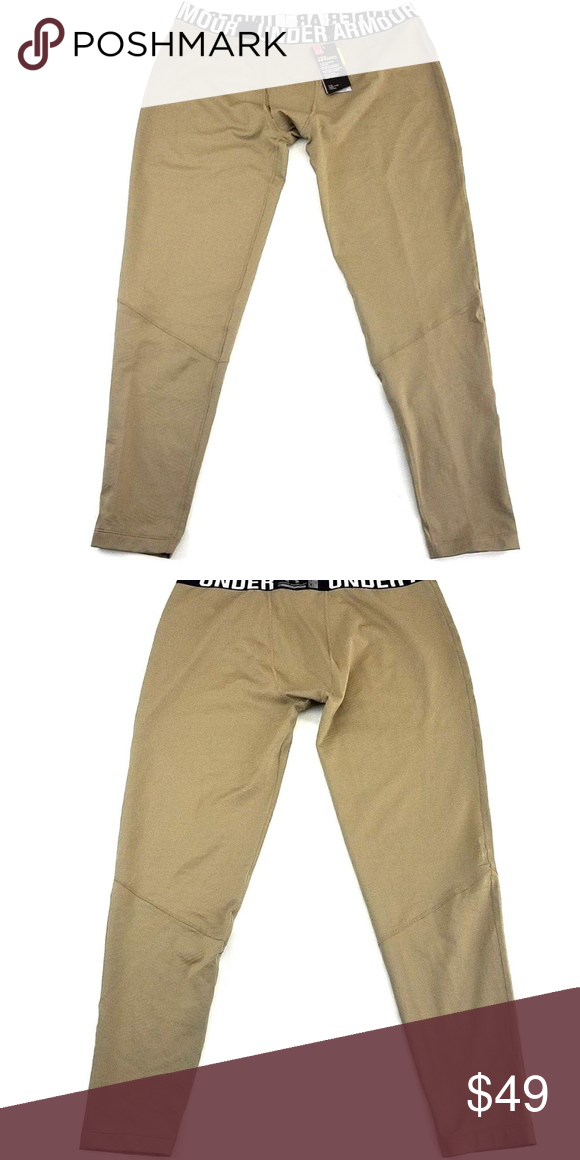 b07525e8274eab Under Armour ColdGear Tactical Fitted Pants Under Armour UA ColdGear® Infrared  Tactical Fitted Federal Tan Leggings You are buying a pair of Under Armour  ...