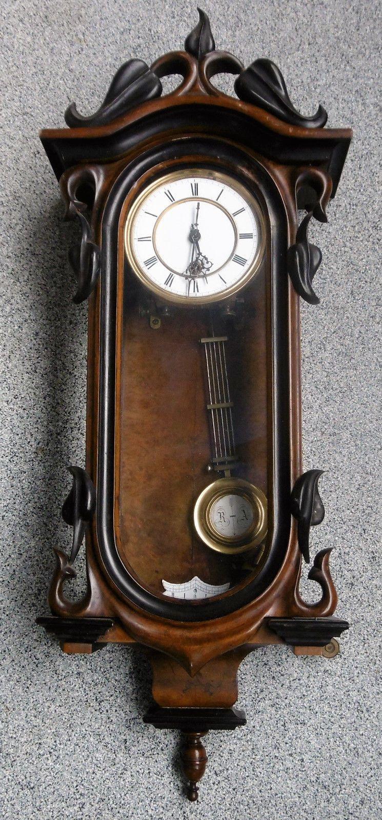 Alte Wanduhr Regulator Jugendstil Wiener Ebay Alte Wanduhren Jugendstil Ungewöhnliche Uhren