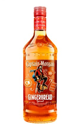 Diageos Captain Morgan Gingerbread Rum Is Only Available In The Uk On Premise Spiced Rum Captain Morgan Rum