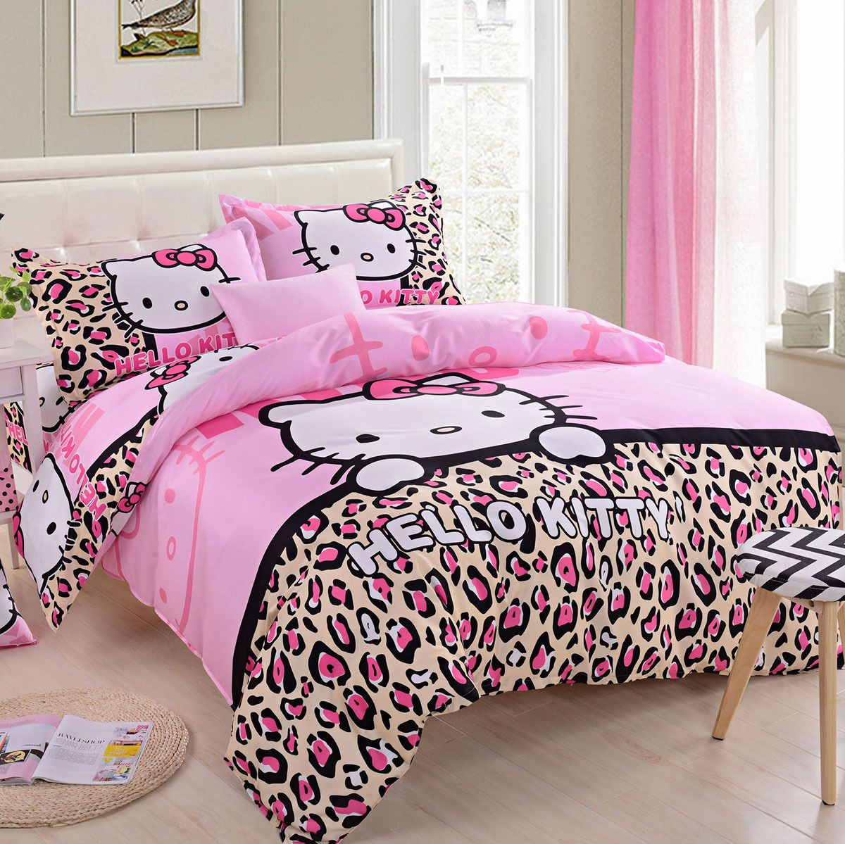 Details About Kids Hello Kitty New Collection Bedding Duvet Cover