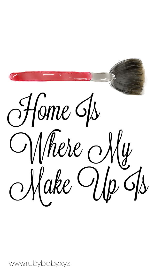 Makeup Lover Wallpaper Write To The Point Makeup Zitate Make Up Tumblr Bild