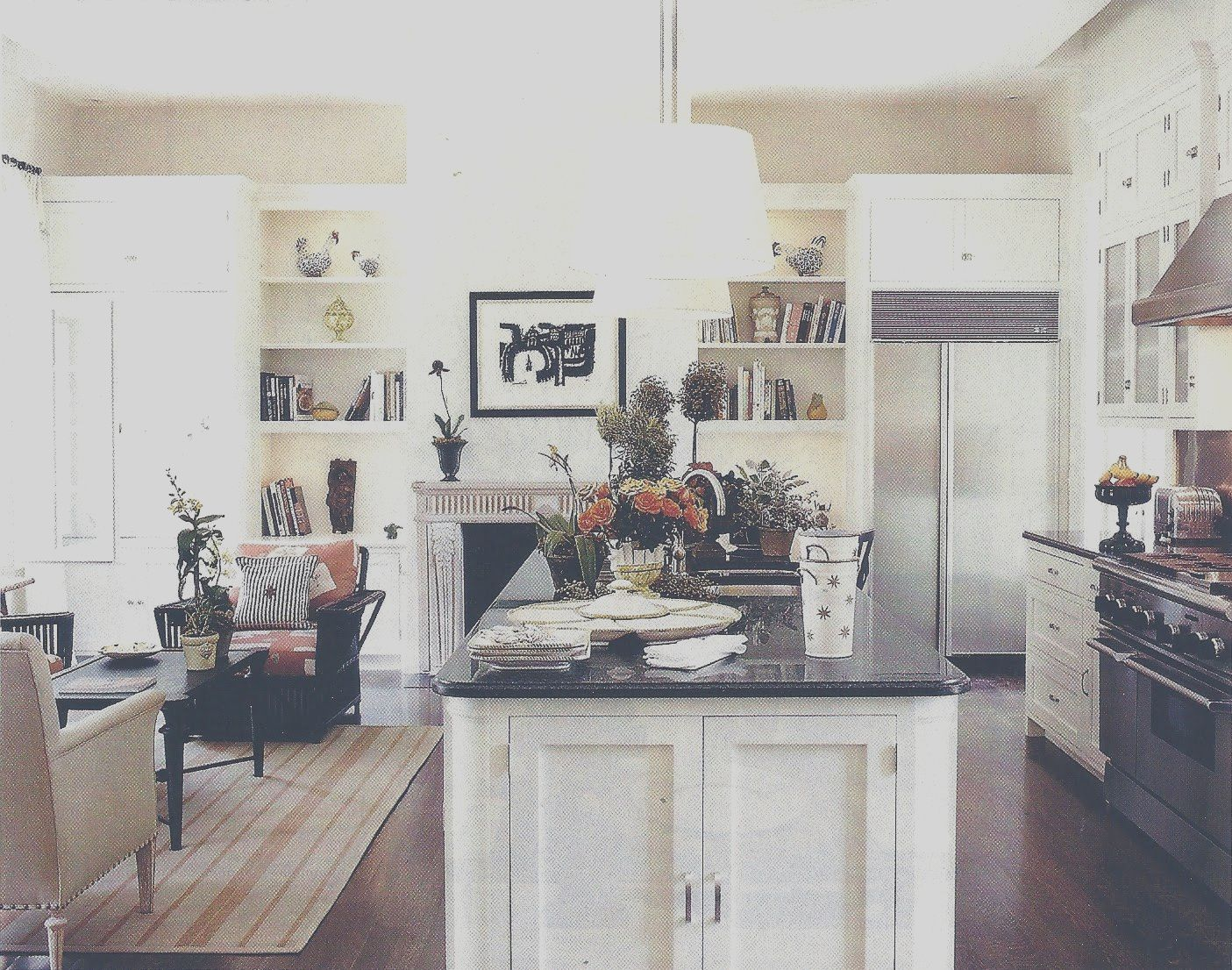 8 Artistic Kitchen Ideas Notting Hill Image In 2020 Kitchen Sitting Areas Kitchen Dinning Room Kitchen Design