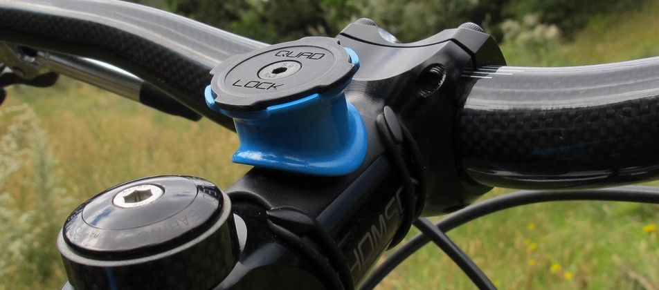 Quad Lock® - iPhone Bike Mount | iPhone Car Mount — Quad Lock™ Bike Mount PRO (Mount Only)