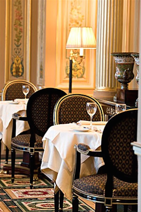 An Upscale Place To Dine Grand Hotel Paris Apartments French Interior