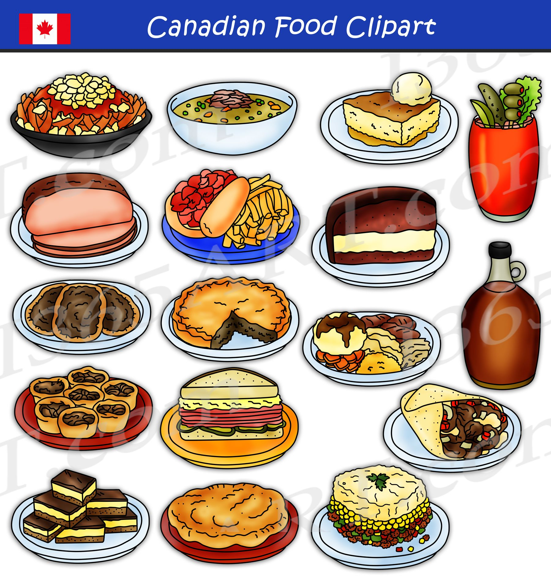 Account Suspended Food Clipart Canadian Food Scandinavian Food