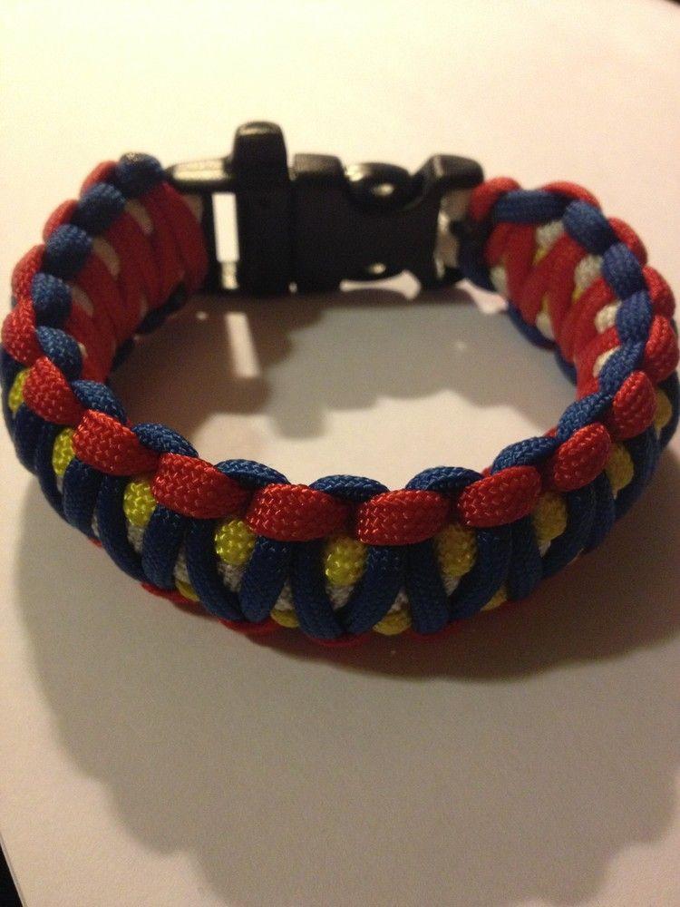 King Cobra Paracord Bracelet Tgn Bracelet With Whistle The