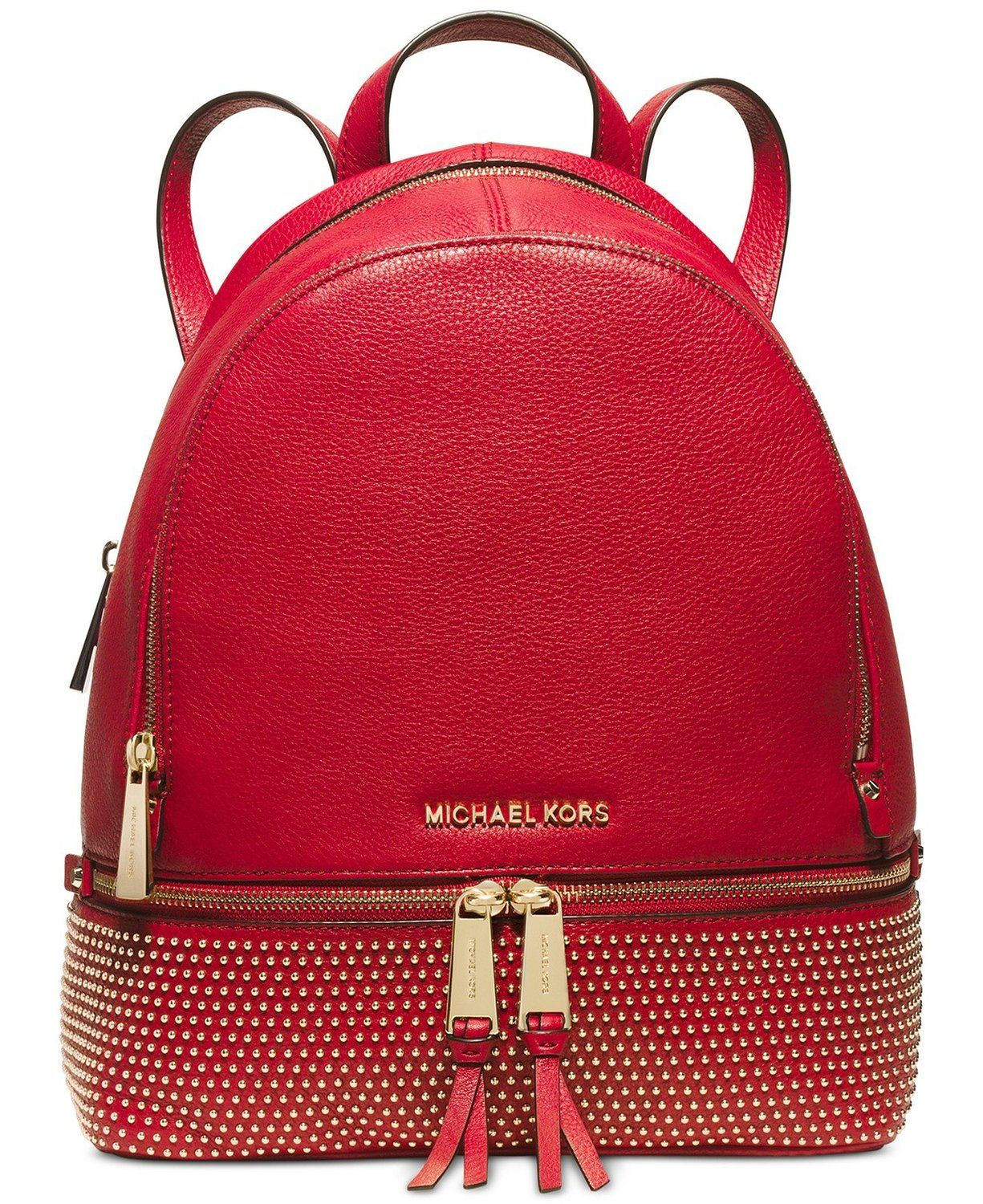fe41462dd191 MICHAEL Michael Kors Rhea Medium Microstud Backpack   You can get more  details here   Backpacking