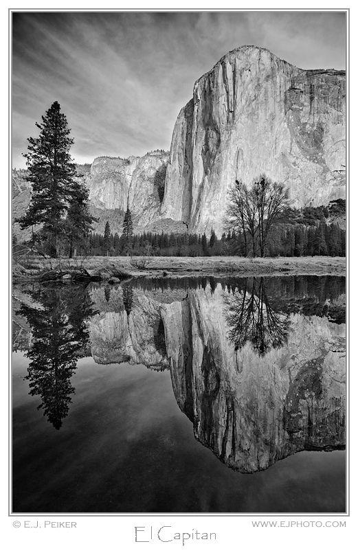 Black white photography el capitan