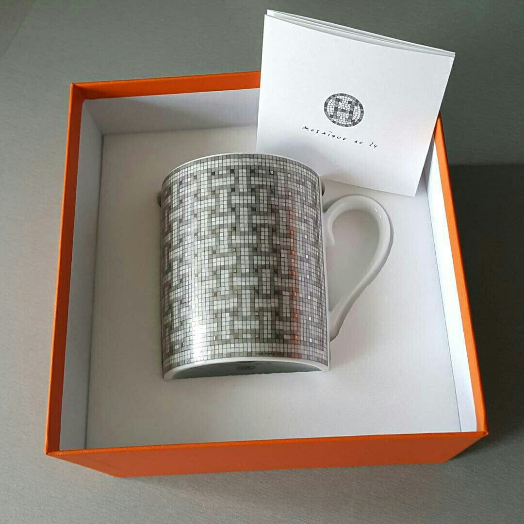 hermes mosaique au 24 platinum mug | kitchen | pinterest | kitchens