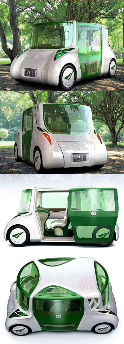 The Rin Concept From Toyota Is A Vehicle Which Focuses On Making The
