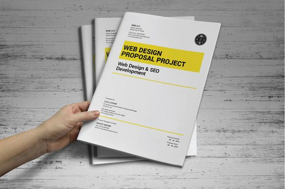 Web Proposal Template Proposal Templates Stationery Design And